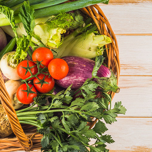 košara povrća