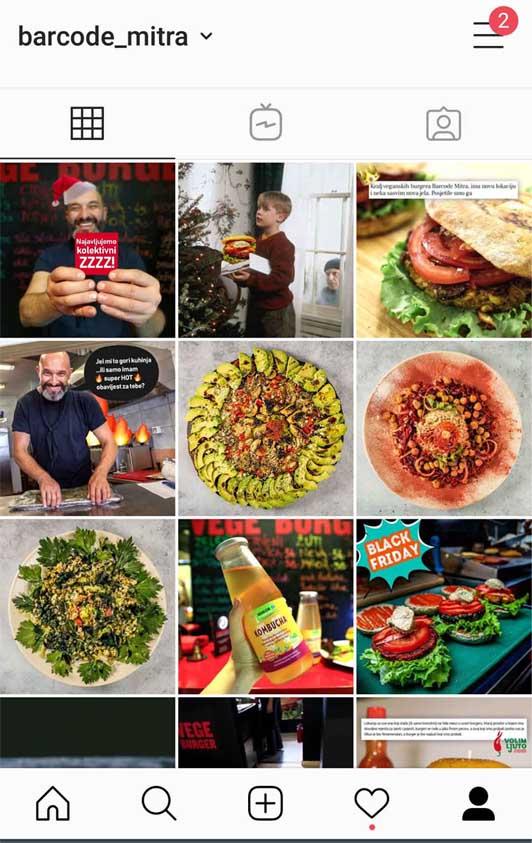 barcode mitra instagram profil