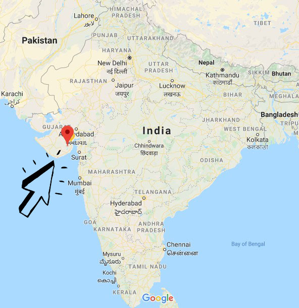 google maps indija palitana