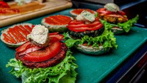 veganski burger barcode mitra