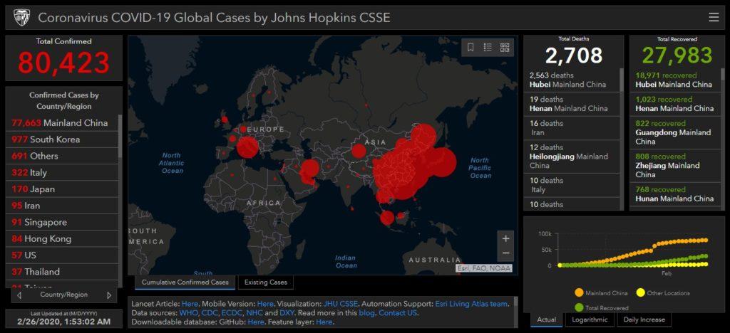 koronavirus podaci svijet